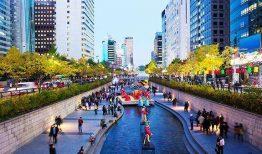Quảng trường Gwanghwamun giữa lòng thủ đô Hàn Quốc