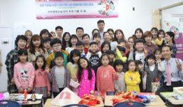 Trẻ em trong gia đình đa văn hóa Việt – Hàn