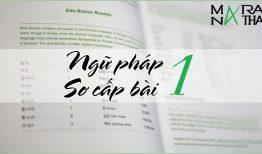 Ngữ pháp tiếng Hàn sơ cấp bài 1 – Đuôi kết thúc câu