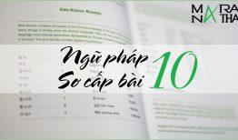 Ngữ pháp tiếng Hàn sơ cấp bài 10