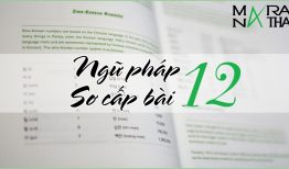 Ngữ pháp tiếng Hàn sơ cấp bài 12