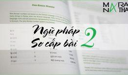 Ngữ pháp tiếng Hàn sơ cấp bài 2