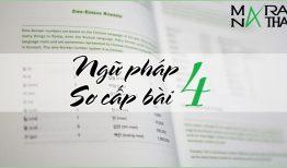 Ngữ pháp tiếng Hàn sơ cấp bài 4
