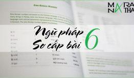 Ngữ pháp tiếng Hàn sơ cấp bài 6
