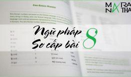 Ngữ pháp tiếng Hàn sơ cấp bài 8