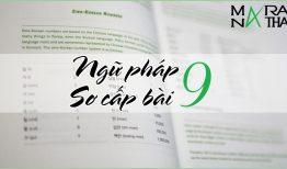 Ngữ pháp tiếng Hàn sơ cấp bài 9