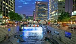 Seoul- Suối Cheonggyecheon, mạch máu của Seoul