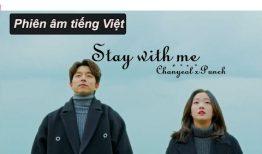 Học tiếng Hàn qua lời bài hát Stay With Me