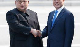 Lãnh Đạo Nam và Bắc Triều tiên gặp nhau – Cuộc gặp gỡ lịch sử
