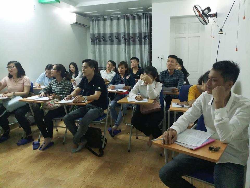 Lớp tiếng Hàn sơ cấp tối khai giảng ngày 12-4-2018