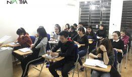 Hình ảnh lớp tiếng Hàn ca tối