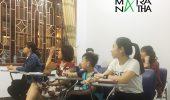 Hình ảnh lớp tiếng Hàn ca tối ở MARANATHA – chi nhánh Nam Định