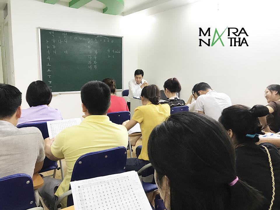 Lớp tiếng Hàn ca tối cho người mới bắt đầu ở Hải Phòng1