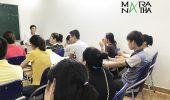 Lớp tiếng Hàn ca tối 3,5,7 đã khai giảng ngày 18/5/2018