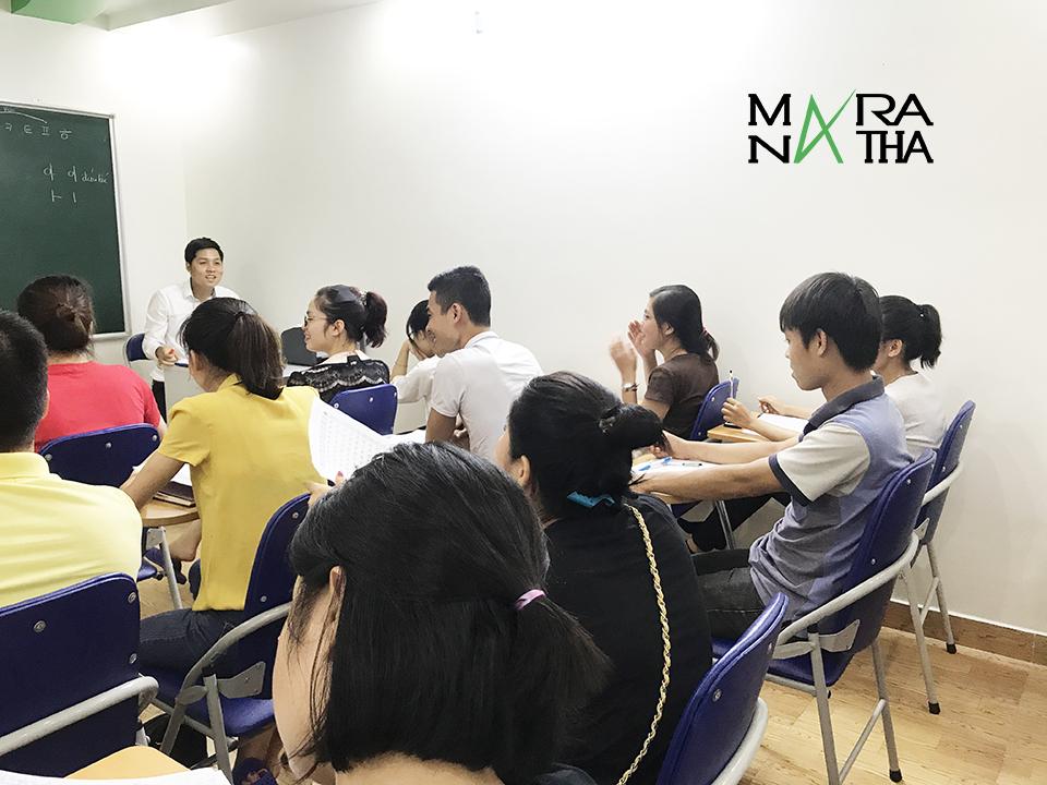 Lớp tiếng Hàn ca tối cho người mới bắt đầu ở Hải Phòng2