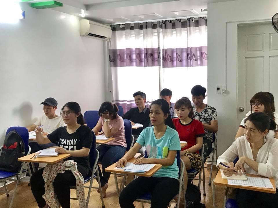 Lớp tiếng Hàn sơ cấp ca chiều khai giảng ngày 21/5/2018