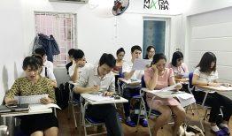 Lớp tiếng Hàn sơ cấp 1 & 2 ca chiều 2h – 4h
