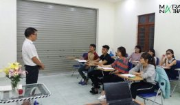 Hình ảnh lớp tiếng Hàn ở MARANATHA – Chi nhánh Thủy Nguyên