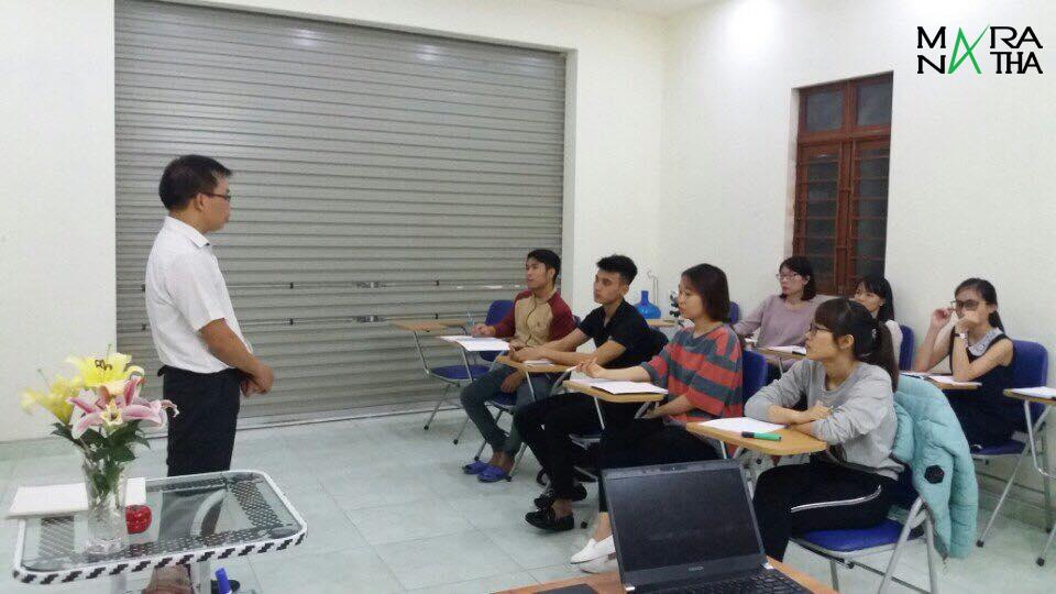 Hình ảnh lớp tiếng Hàn ở MARANATHA - Chi nhánh Thủy Nguyên