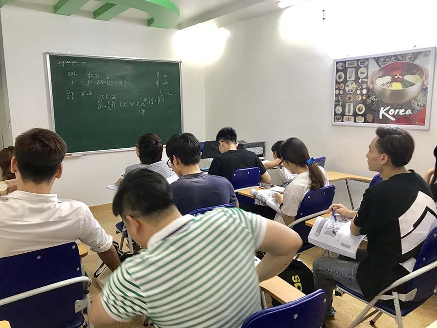 Lớp tiếng Hàn sơ cấp 2