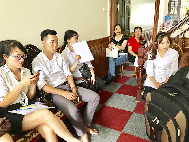 Hình ảnh buổi phỏng vấn du học Hàn Quốc 3