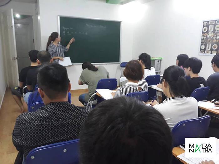Lớp tiếng Hàn sơ cấp khai giảng ngày 29/8/2018