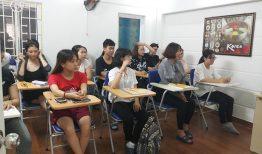 Khai giảng lớp tiếng Hàn sơ cấp 1 ca chiều ngày 4/9/2018
