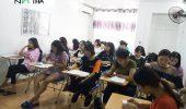 Lớp tiếng Hàn sơ cấp ca sáng khai giảng ngày 12/9/2018
