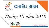 Hàn ngữ Maranatha tuyển sinh các lớp tiếng Hàn sơ cấp tháng 10