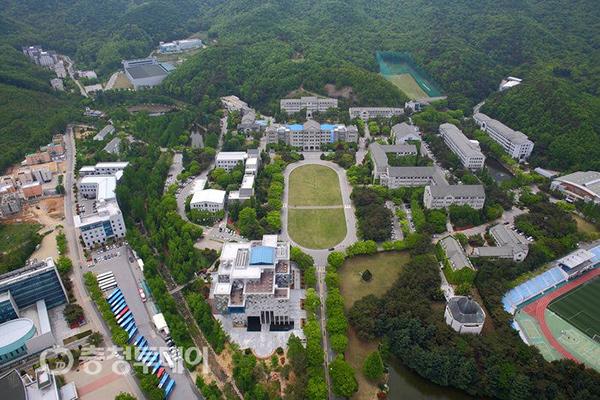 Toàn cảnh trường đại học Hoseo