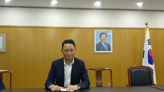 ông Jeong Woo Jin - phó tổng lãnh sự Hàn Quốc tại Việt Nam