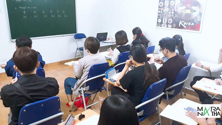 Lớp tiếng Hàn sc1 khai giảng ngày 05/11/2019