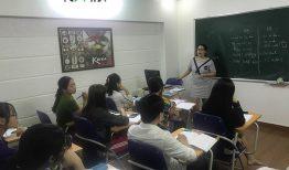 Khai giảng lớp tiếng Hàn Sơ cấp 2 ca tối ngày 05/11/2018