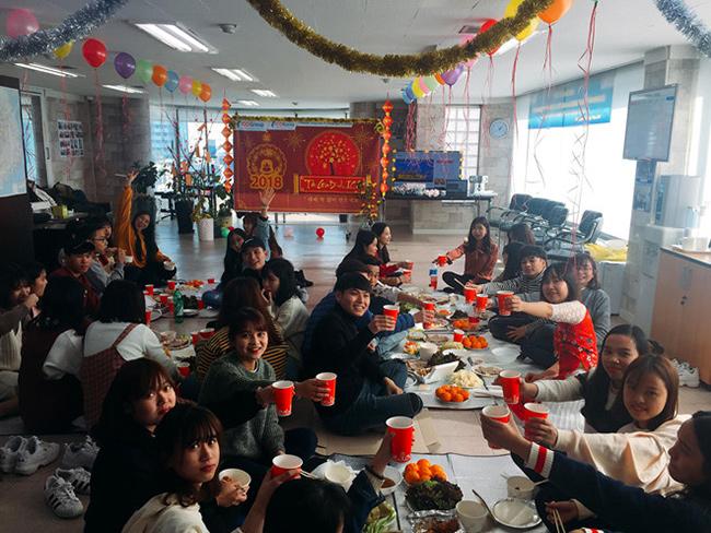 Không khí đón tết của du học sinh Việt Nam tại Hàn Quốc