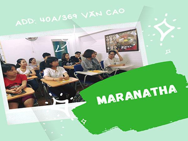 Lớp tiếng Hàn tại Maranatha