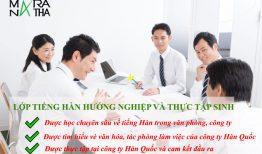 Tuyển sinh lớp tiếng Hàn hướng nghiệp và thực tập sinh ở Hải Phòng