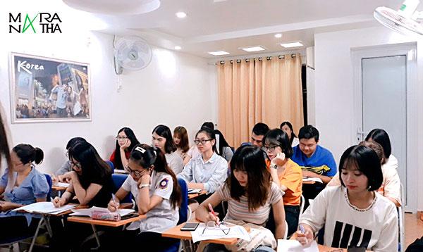 Lớp tiếng Hàn sơ cấp KG ngày 04/04/2019