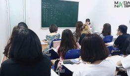 Khai giảng lớp tiếng Hàn ca sáng ngày 19/09/2019