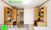 Ký túc xá khang trang của trường đại học Hanseo