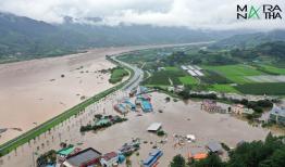 Thiệt hại do mưa lũ ở Hàn Quốc