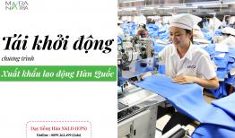 Tin vui : chương trình xuất khẩu lao động Hàn Quốc (EPS) trở lại trong tháng 3